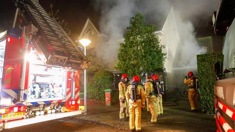 De bewoners zijn uit het huis gehaald (foto: SQ Vision Mediaprodukties).
