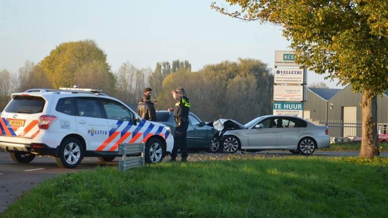 De Bulgaar raakte op de verkeerde weghelft en botste op de auto met baby. (Foto: Alexander Vingerhoeds)