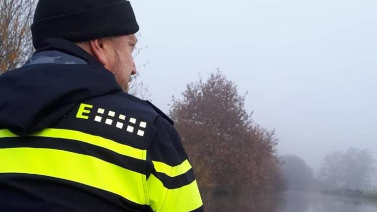 De politie zocht dagenlang naar de vermiste man uit Sint-Oedenrode. (Foto: Twitter Ger Roumen)