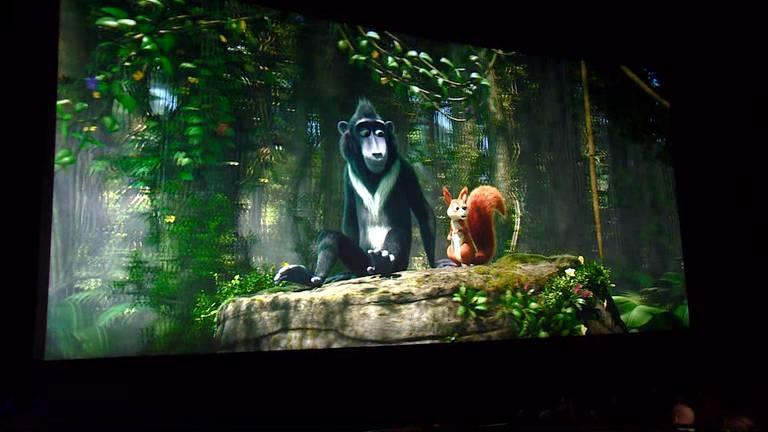 De nieuwe film ging erin als koek.