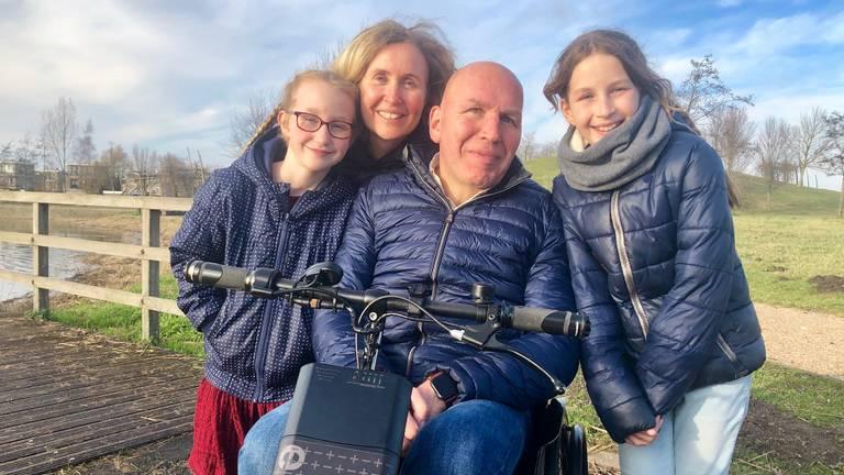 Hugo en zijn gezin.
