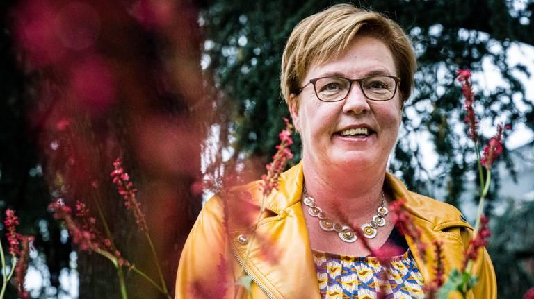 Jannie Visscher nieuwe partijvoorzitter van SP. (Foto: ANP)