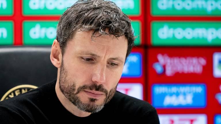 Mark van  Bommel na nederlaag Feyenoord-uit (foto: HollandseHoogte).