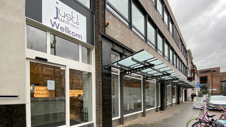 Het pand van Just Wellness in Breda.