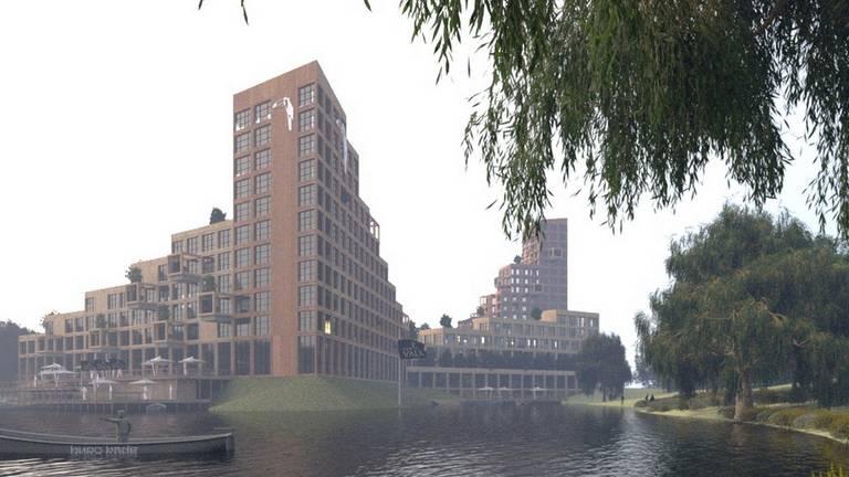 Nieuwbouw plan Van der Valk Vught (foto: © Buro Kade)