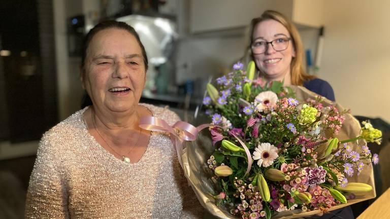 Annie Roovers en Stephanie Haveman in Oosterhout  (foto: Jan Peels).