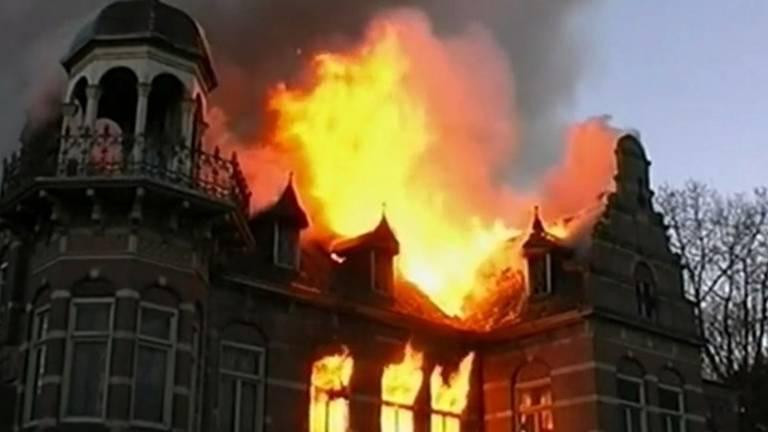 Miljonair Ewald Marggraff kwam bij de brand in 2003 om het leven. (Archieffoto)