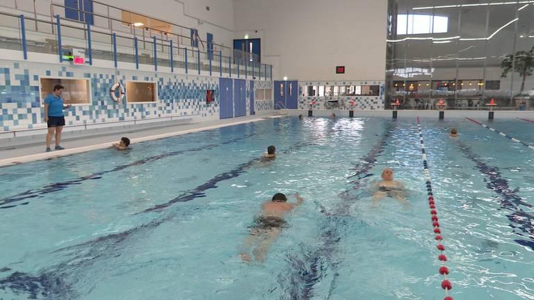 Zwembad De Schelp ging in februari weer open. (Foto: Erik Peeters)