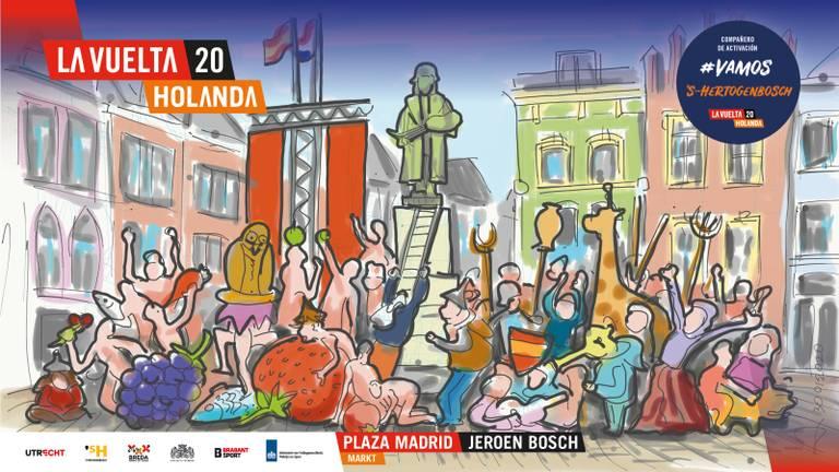 De Markt voor een dag Plaza Madrid