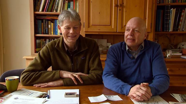 Aad Smid (l) en Jeroen Oosterling (r) over de Elfstedentocht van 1985