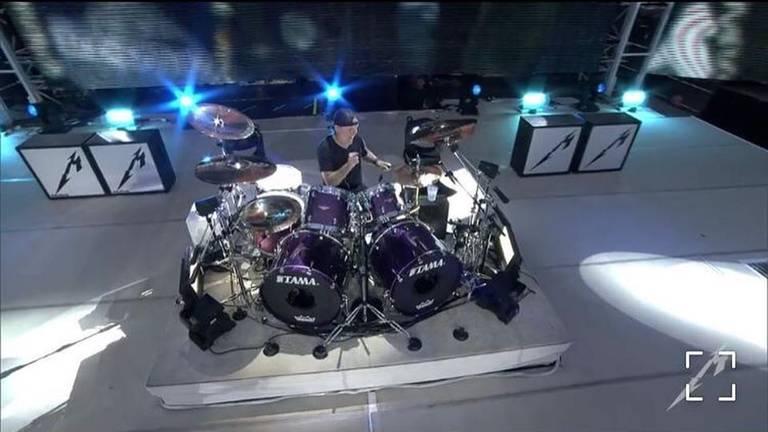 Lars Ulrich van Metallica (Foto: Joost Kopmans)