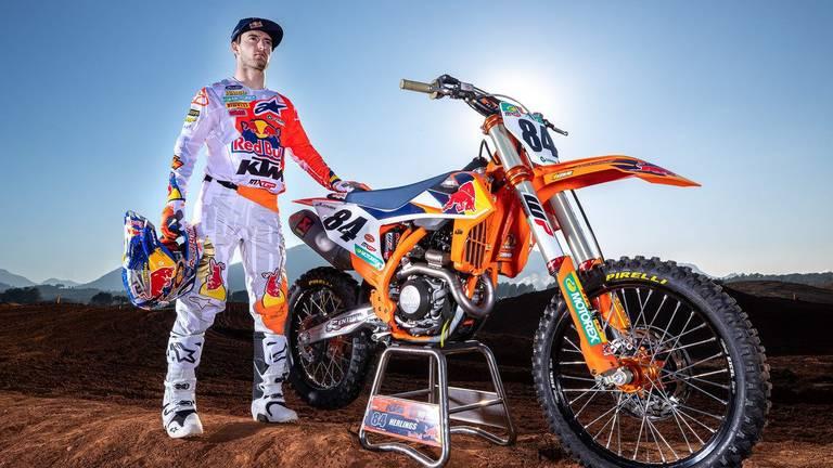 Jeffrey Herlings is fit en klaar voor een nieuw MXGP-seizoen (foto: KTM).