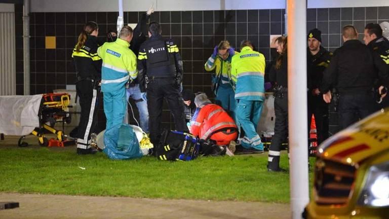 Bij hun vlucht raakten de twee verdachten zwaargewond (foto: Perry Roovers / SQ Vision Mediaprodukties).