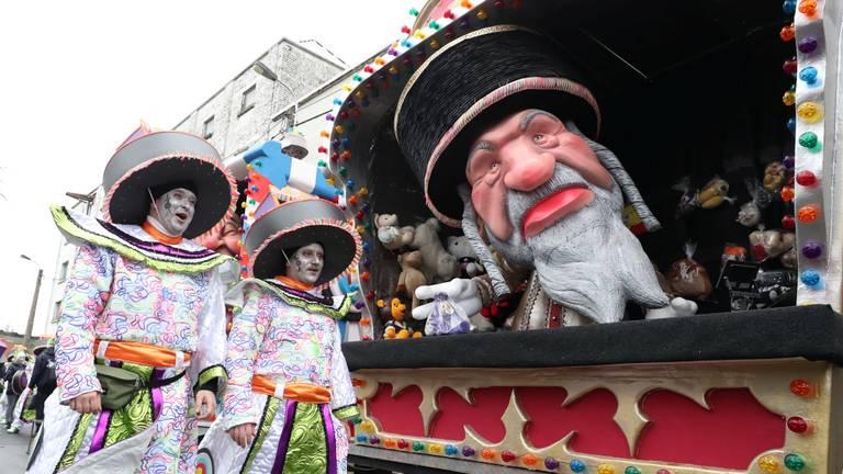 Joodse karikatuur tijdens carnaval in Aalst (Foto: Omroep Brabant)