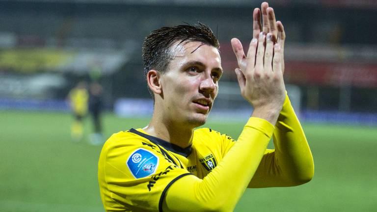 Moreno Rutten in zijn tijd als speler van VVV-Venlo (foto: HollandseHoogte).