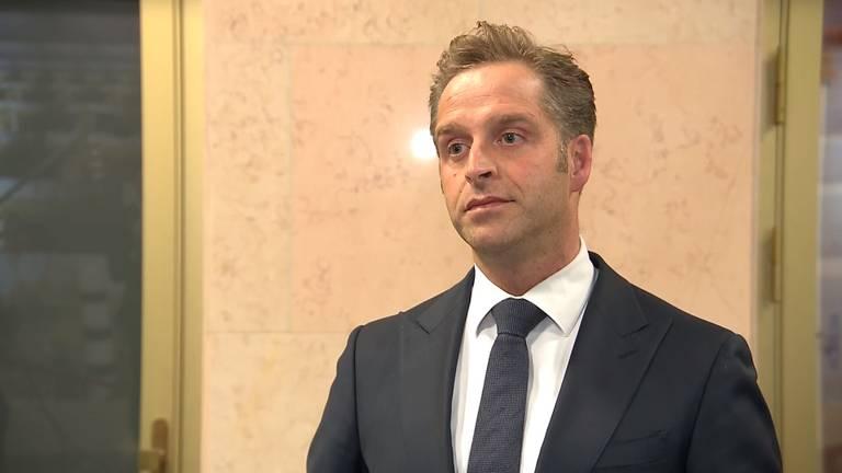 Minister Hugo de Jonge (Volksgezondheid)