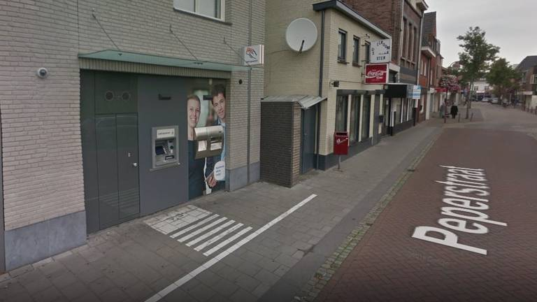 Zo zag de afstortkluis eruit voor de ontploffing (afbeelding: Google Streetview).