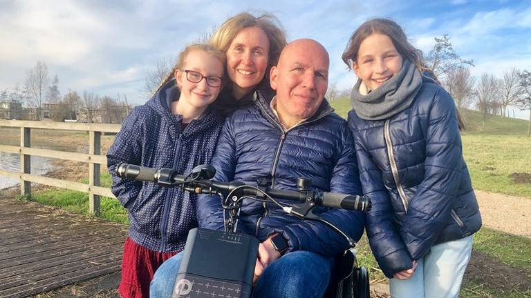Hugo Wolff met zijn gezin. (Foto: Erik Peeters)