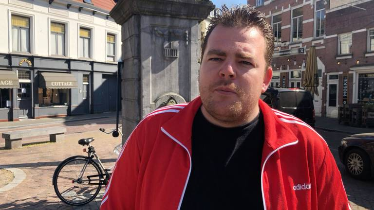 Johan de Vos van Koninklijke Horeca Nederland, afdeling Breda.