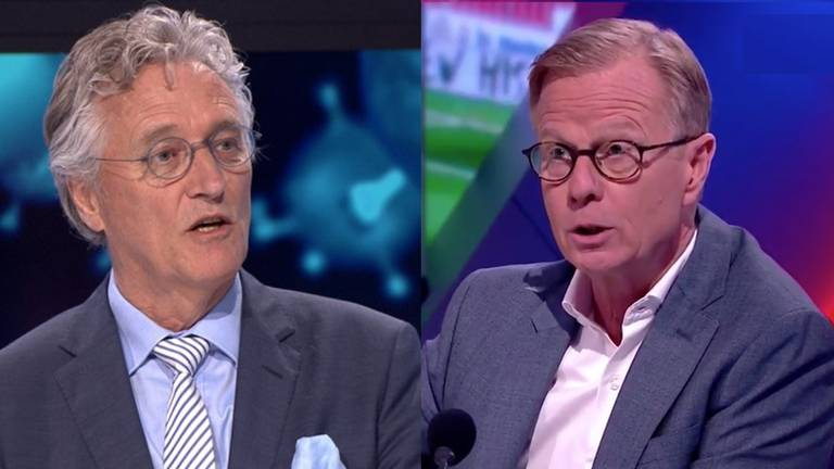 John Jorritsma (l) en Arno Vermeulen (r).