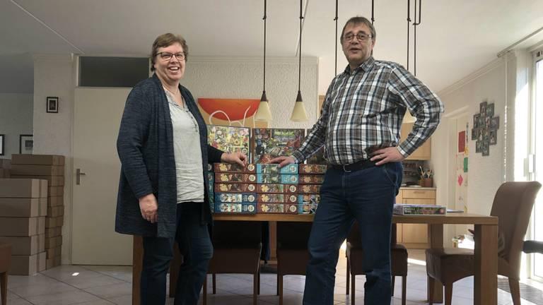 Willemien en Ale Sytsma van Pientere Puzzels (Foto: Pientere Puzzels)
