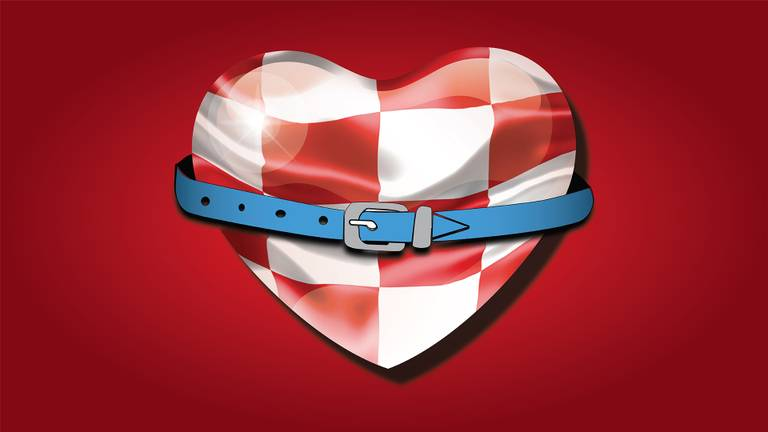 Wie steek jij een hart onder de riem?