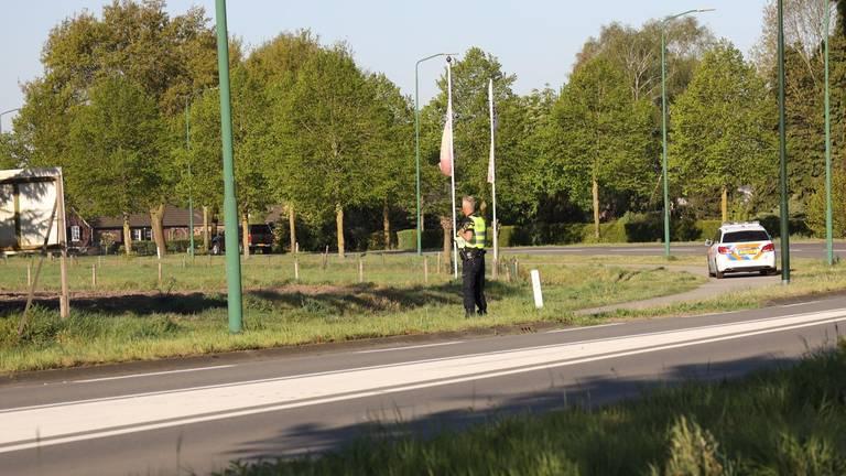 De politie vond de overvaller korte tijd later. Foto: Marco van den Broek/SQ Vision
