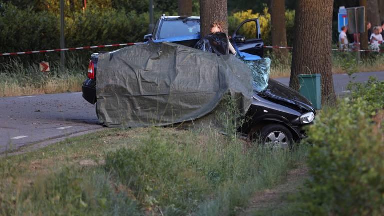 Er waren geen andere voertuigen betrokken bij het ongeluk. (Foto: Marco van den Broek / SQ Vision)