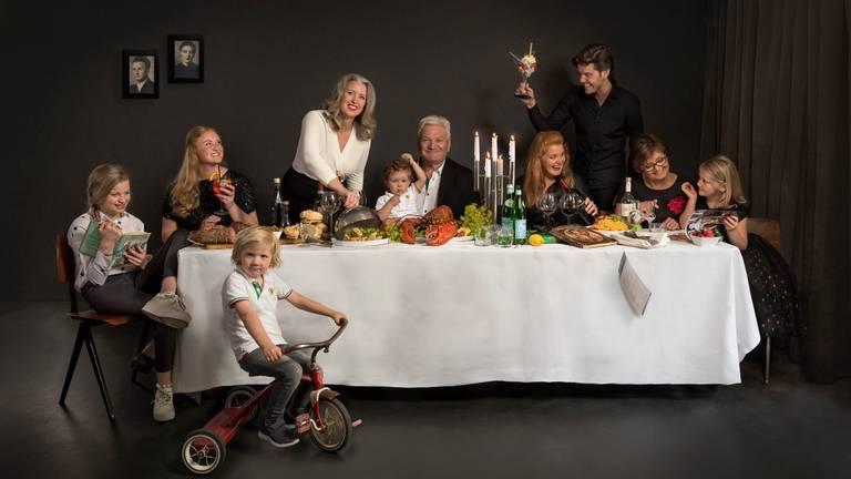 De familie De Marco, Hanneke in de witte blouse (foto: Amici d'Italia)