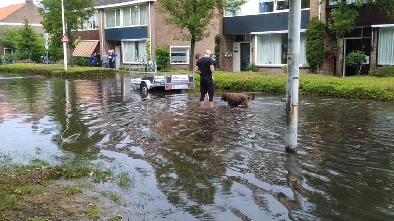 De Jonkheer de la Courstraat in Vlijmen (Foto: Carin Dekkers).