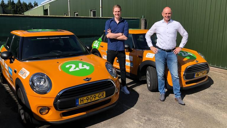 Stijn van Mierlo en Thijs Verleg van Heeze24 en Cranendonck24