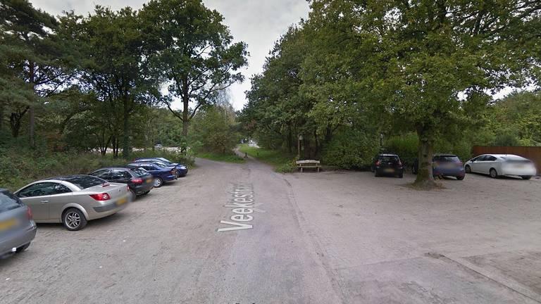 De Veekestraat  bij de Vrachelse Heide (foto: Google Streetview).