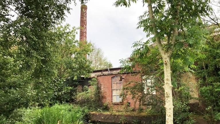 In deze verlaten kalkfabriek was de man uit Sint Hubert actief. (Foto: RTV Noord)