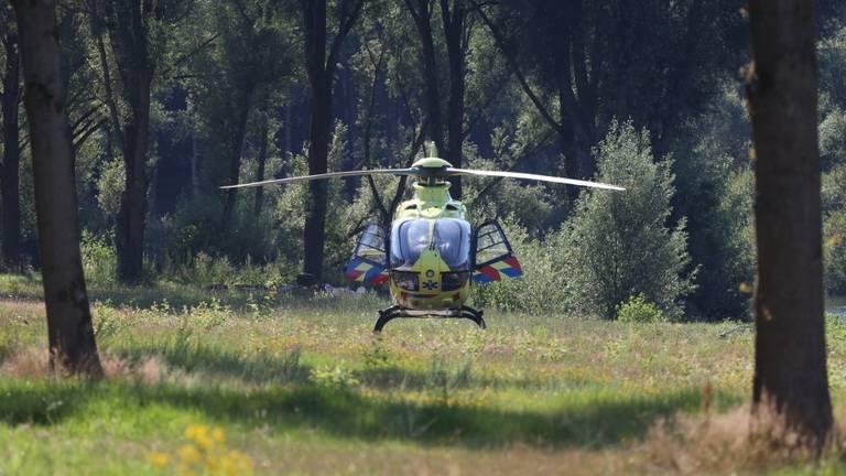Er landde een traumaheli (foto: Sander van Gils/SQ Vision Mediaprodukties).