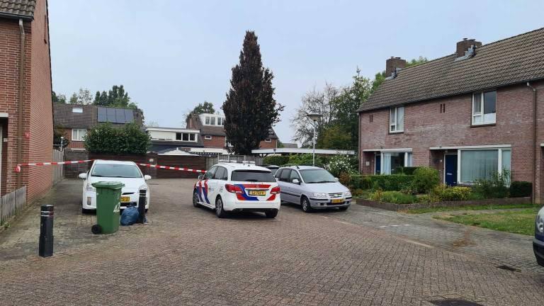 De situatie in Boxmeer de ochtend na de fatale schietpartij.