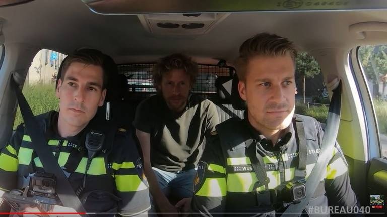 Beeld: Politievlogger Jan-Willem