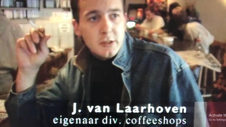 Johan in zijn jonge jaren in Tilburg (foto: screenshot documentaire)