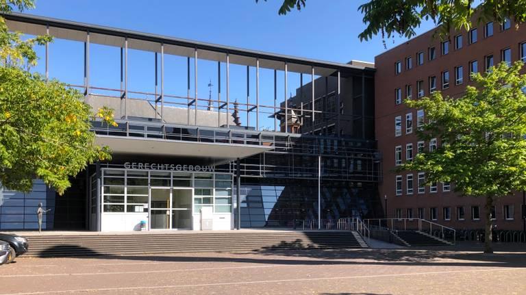De rechtbank in Utrecht waar het onderzoek voorkomt (foto: Willem-Jan Joachems).