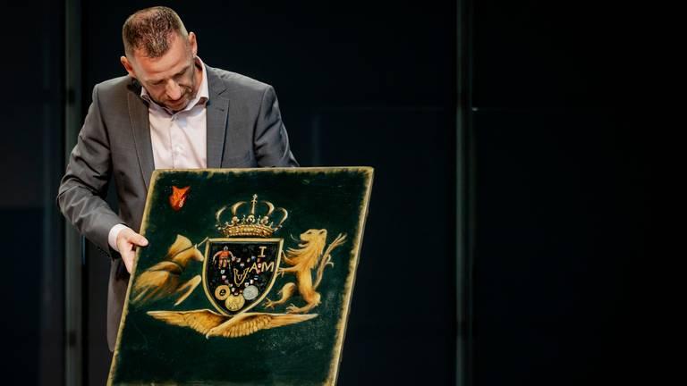 Edwin Vermetten won de Michiel de Ruyter Prijs (Foto: ANP/Robin van Lonkhuijsen).