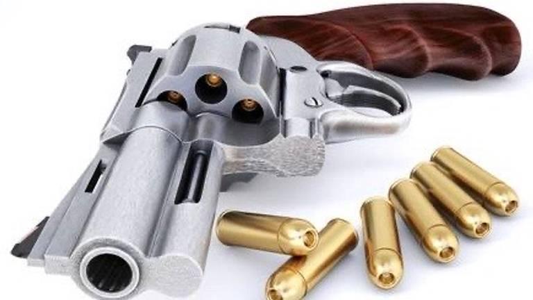 Een revolver (Foto: archief)