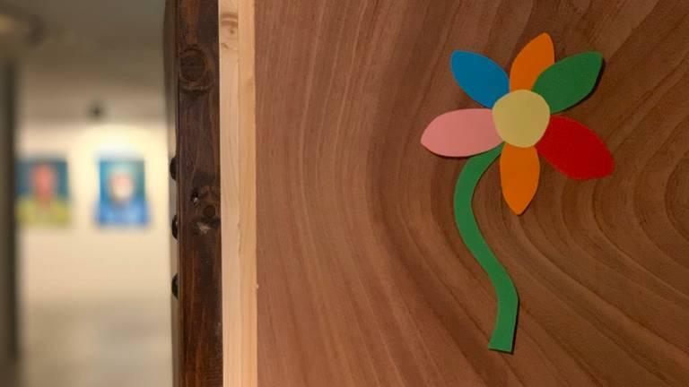 Deze bloemen en vlinders waren te vinden in Huize Sint Jan, een woongelegenheid waar ouderen de juiste zorg krijgen.