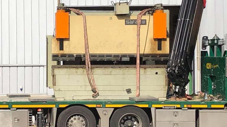Een andere Safan-metaalmachine die is meegenomen (foto: Willem-Jan Joachems)