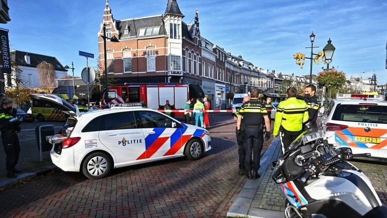 Het ongeluk gebeurde op de Ginnekenweg in Breda (Foto: SQ Vision/Tom van der Put).