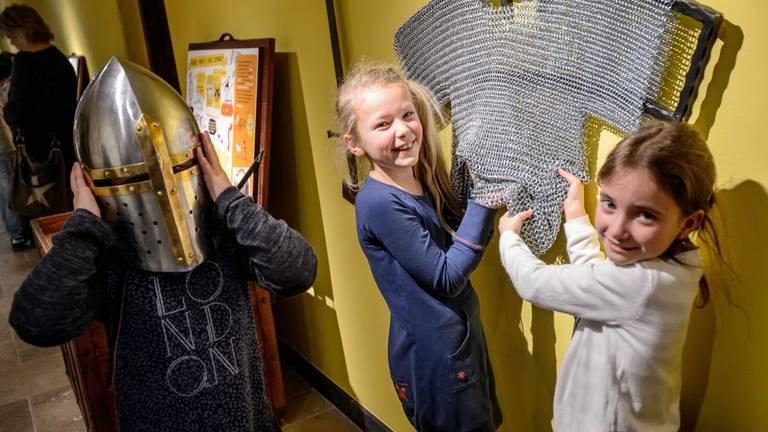 Kinderen in Museum Helmond (foto: archief).