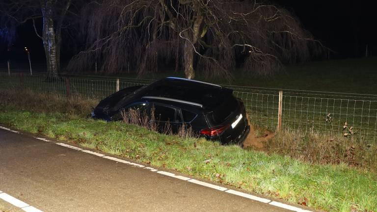 De gestolen auto (foto: Kevin Kanters / SQ Vision).