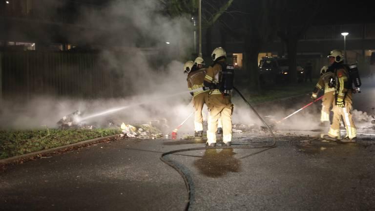 De brandweer had een drukke avond.  Foto: Christian Traets/SQ Vision.