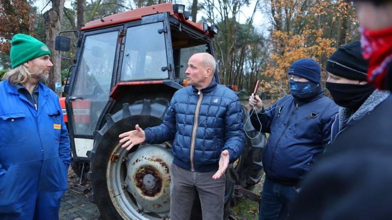 De boeren demonstreerden eerder omdat ze betere prijzen willen.