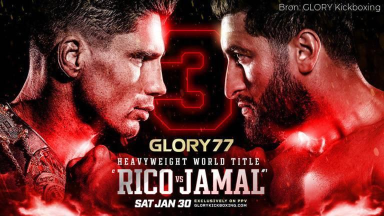 Rico en Jamal zouden op 30 januari samen in de ring staan (foto: Glory).
