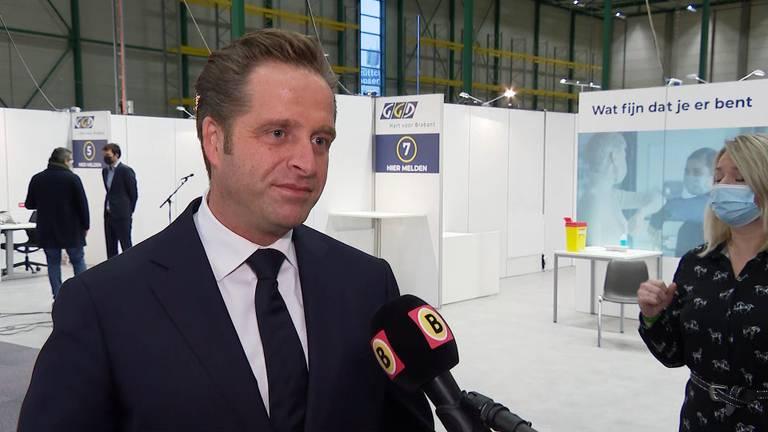 Minister Hugo de Jonge (foto: Omroep Brabant).