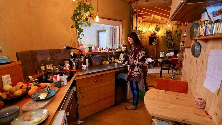 Keuken in het Stropaleis.